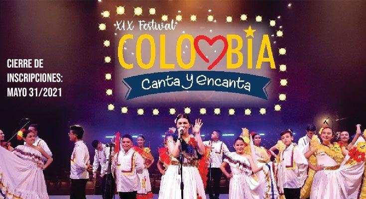 INSCRIPCIONES ABIERTAS PARA COLOMBIA CANTA Y ENCANTA